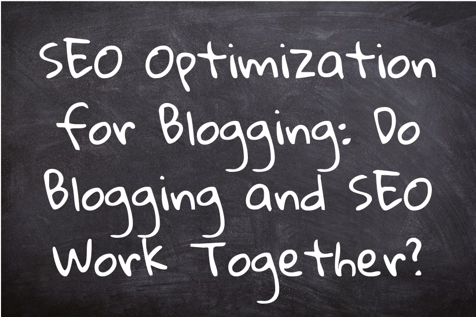 SEO optimization for blogging