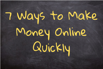 Make Money Online Quickly