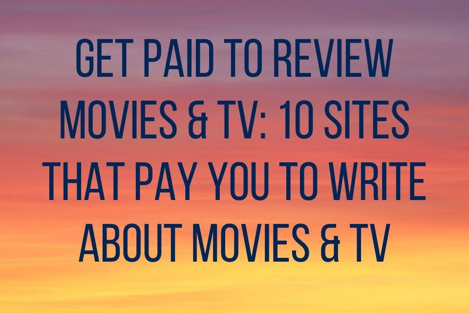 Get Paid to Review Movies
