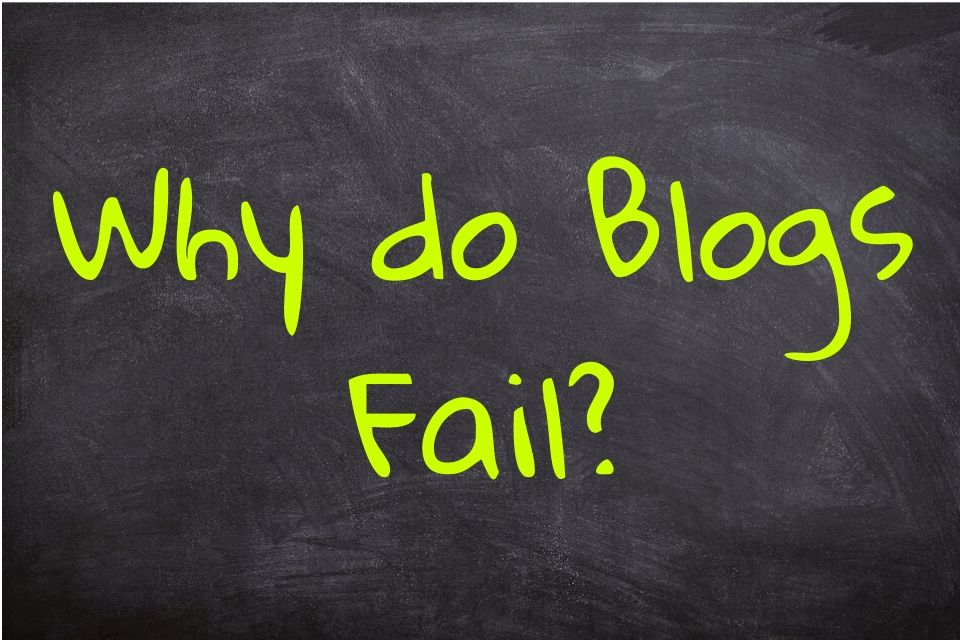 Why do Blogs Fail